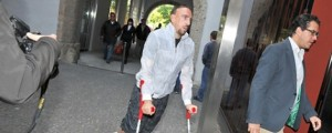 Franck Ribery injured