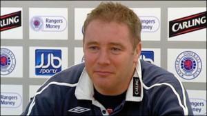 Ally McCoist Rangers manager