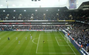 White Hart Lane Tottenham stadium